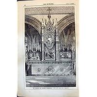 Sir Antico G G Scott Architect 1874