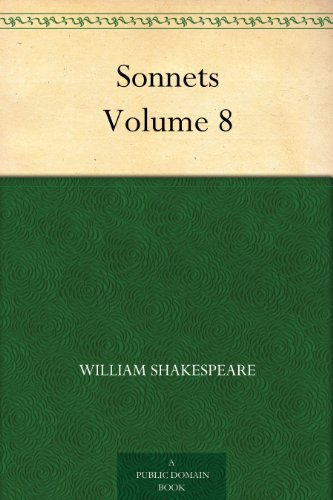 Couverture du livre Sonnets Volume 8