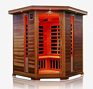 infrarotkabine w rmekabine sauna eck f r 4 personen sonderaktion k che. Black Bedroom Furniture Sets. Home Design Ideas
