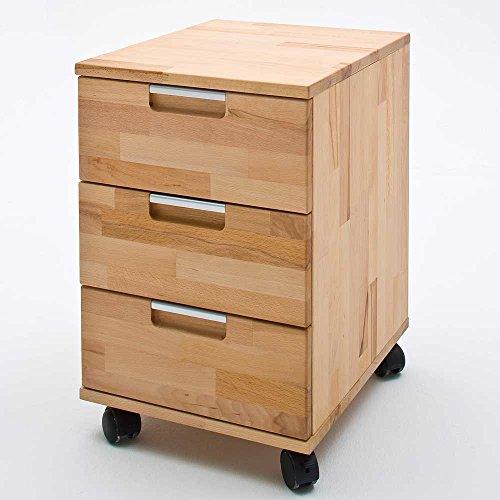 Pharao24 Bürocontainer Remona aus Kernbuche Massivholz