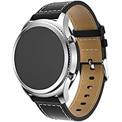 For Samsung Gear S3 Frontier Strap Band ,Fulltime(TM) Leather Replacement Watch Bracelet Strap Band For Samsung Gear S3 Frontier