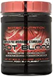 Scitec Nutrition Hot Blood 3.0 Fórmula Pre Entrenamiento Zumo de Naranja - 300 g