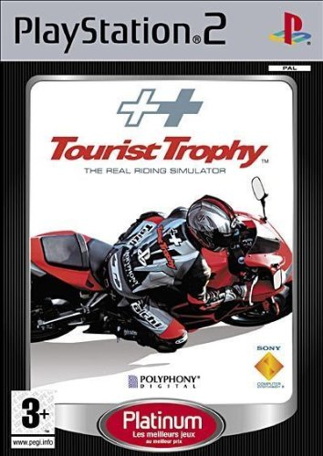Tourist Trophy the real riding simulation Platinum - Playstation 2 - - Riding Real
