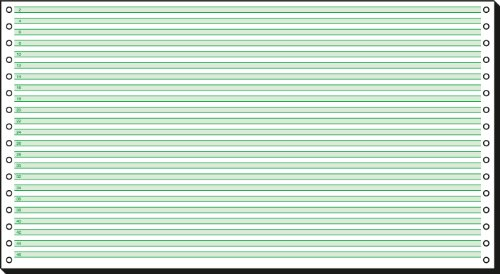 Preisvergleich Produktbild Sigel 08371 Endlospapier 8 Zoll x 375 mm (203x375mm), 60 g, 2000 Blatt 1fach