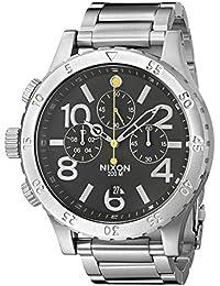 Nixon A486000-00 - Reloj unisex de acero inoxidable negro