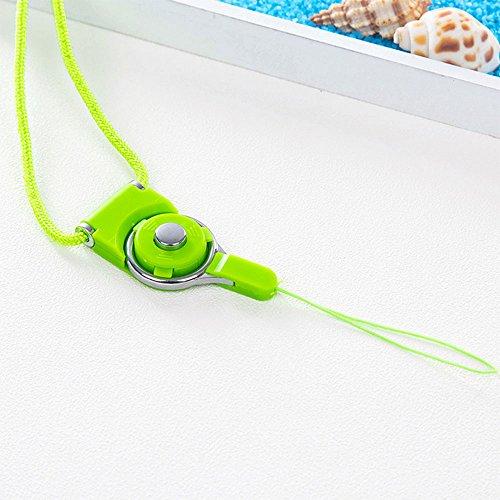 Daycount Handschlaufe/Schlüsselband für Handy, 5 Stück Length: 48cm/ 19'' grün -
