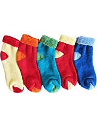 RC. ROYAL CLASS SOFT ANKLE COTTON CUSHION SOCKS FOR KIDS(0-8 YEARS) (PACK OF 5 PAIRS)