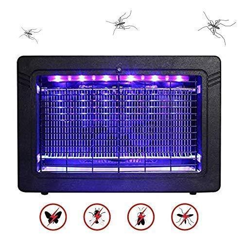 WADEO Insektenvernichter Elektrisch, Moskito Killer Mückenfalle Insektenfalle UV-Licht LED Insektenlampe, Mückenfalle für Wandmontage, Ungiftig Keine Strahlung für 30m² Hause Innen Aussen Camping