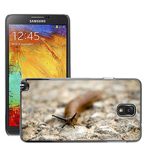 Just Phone Cover Bild Hart Handy Schwarz Schutz Case Cover Schale Etui // M00139031 Snail Natur Tiere Land Schnecke // Samsung Galaxy Note 3 III N9000 N9002 N9005 -