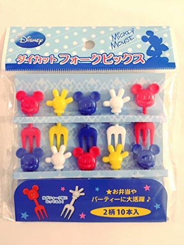 Obere Pick (Disney Mickey Mouse Gabel Lebensmittel Picks 100kn-04326)