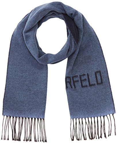 Lagerfeld - Sciarpa Uomo, colore Blu (Navy 60), Taglia unica (Taglia Produttore: 1)
