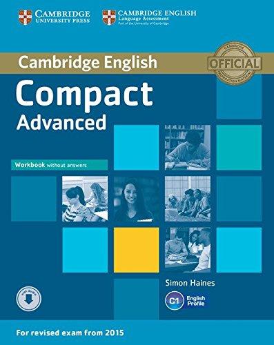 COMPACT ADVANCED WORKBOOK WITH ANSWERS WITH AUDIO descarga pdf epub mobi fb2