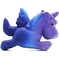 Bluestercool Blue Color Cute Squishy Toys Stress Reliever for Kids and Adults Slow Rising Cream Scented Soft Toys