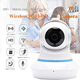 xue binghualoll Seguridad para el hogar HD 720P IP para el hogar Cámara de vigilancia de Audio WiFi inalámbrica Inteligente Reino Unido