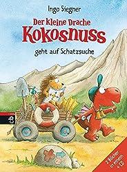 Der kleine Drache Kokosnuss geht auf Schatzsuche: Set aus 2 Bänden mit CD (Sammelbände, Band 4)