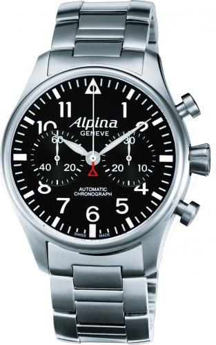 Alpina Geneve Startimer Chronograph AL-860B4S6B Reloj para hombres Alpina Rotor