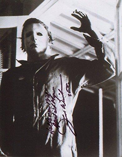 Jim Winburn Signed John Carpenter Halloween 1978 Michael Myers 10x8 COA pj - Myers Michael Halloween 1978