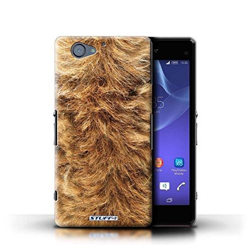 Kobalt® Imprimé Etui / Coque pour Sony Xperia A2 / Girafe conception / Série Motif Fourrure Animale Chien