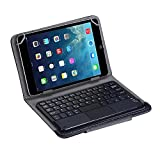 KanLin1986 Teclado inalámbrico, Teclado Bluetooth con Touchpad para Tablet 7 Pulgadas + Funda