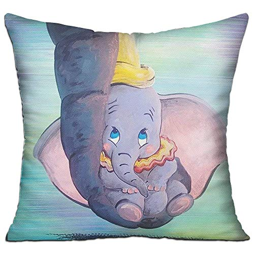 Klotr Kissenbezug, Dumbo Being Held by His Mother's Trunk Decorative Throw Pillow Case Cushion Cover 18