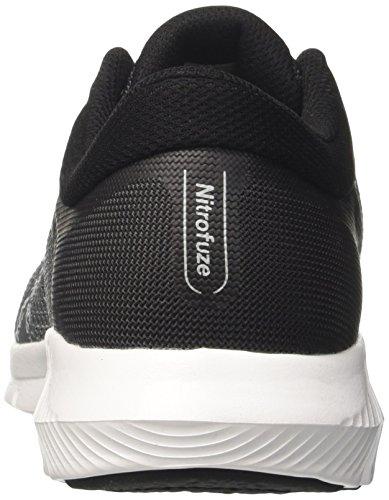 Asics Nitrofuze 2, Chaussures de Gymnastique Homme Gris (Carbon / Glacier Grey / White)