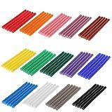 Lot de 5 bâtons de colle thermofusible colorés 7 x 100 mm pour bricolage et outils de réparation bleu ciel
