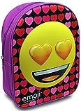 Emoji - Mochila infantil  Yellow, Purple, Red, Pink