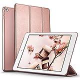 iPad Mini 4 Hülle, ESR® Yippee Series Auto aufwachen/Schlaf Funktion Ledertasche mit durchschaubar Rückseite Abdeckung Leichtgewicht Anti-Kratzer Schutzhülle für iPad Mini 4 (Roségold)