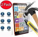 2 Pack - Nokia Lumia 1320 Verre Trempé, Vitre Protection Film de Protecteur d'écran...