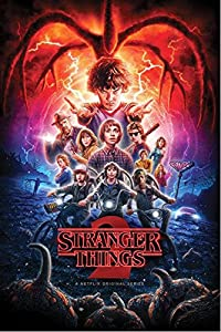 Stranger Things- Segunda Temporada/Colaje, Multicolor, Standard (Pyramid PP34422)