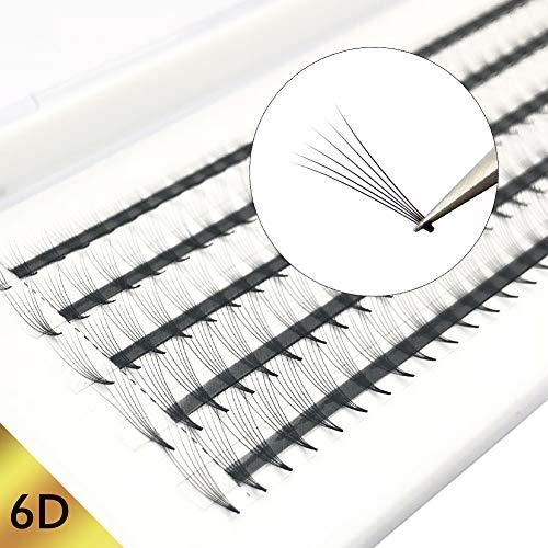 Extensión Pestañas 6D 0.07mm C Curl Extensiones