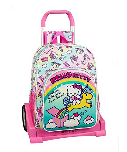 Hello Kitty Candy Unicorns Mochila Carro Ruedas Evolution