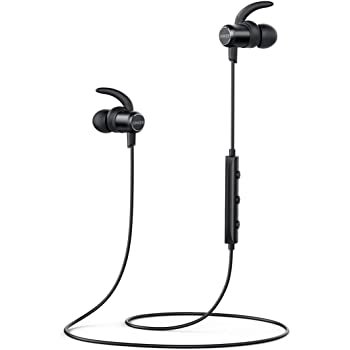 Anker Bluetooth Headphones, SoundBuds Slim Lightweight Wireless Earphones, IPX5 Sweatproof Sports Headphones with cVc Noise Suppression Mic and 7-Hour Playtime for Running, Cycling, Gym, Travelling