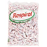 Respiral - Caramelo duro refrescante - Sabor mentol y eucalipto - 1 kg
