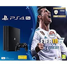 PS4 Pro 1To + FIFA 18 - édition deluxe + PS+ 14 Jours