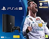 PS4 PRO 1To A Noire + FIFA 18 Edition Deluxe + PS+ 14 Jours