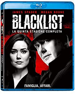 Blacklist: Stagione 5 (Box Set) (5 Blu Ray)