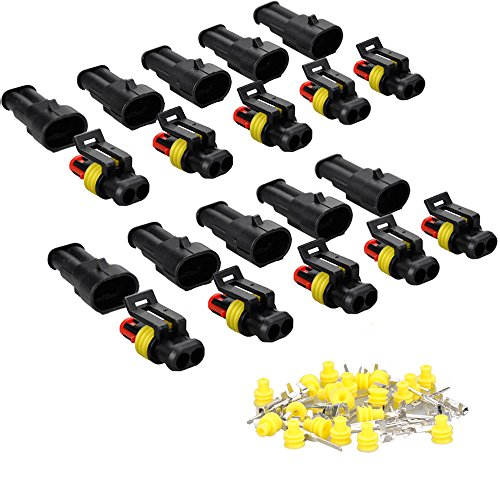 IMAGINE 10 juegos 1/2/3/4/5/6 pines Clavija Conector electrico Impermeable Conector Enchufe para...