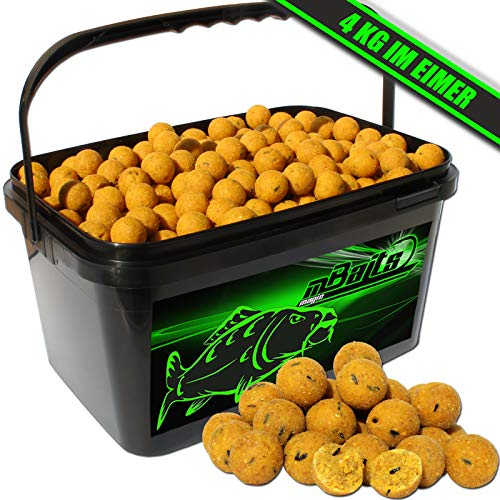Angel-Berger Magic Baits Boilies im Eimer 4 kg (Mais)
