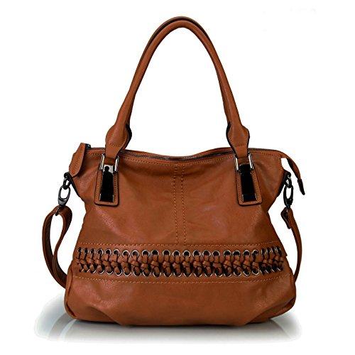 ladies-designer-brown-laced-front-tote-handbag-hobo-shoulder-bag