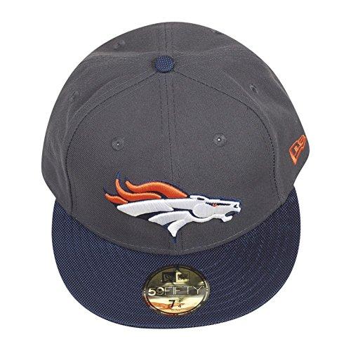 New Era 59Fifty BALLISTIC Cap - NFL Denver Broncos Charbon de bois
