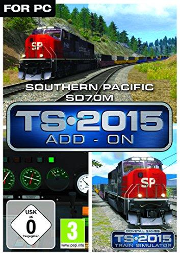 Southern Pacific SD70M Loco AddOn