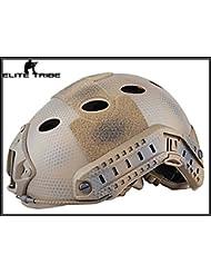 casco de airsoft paintball militar casco táctico de combate FAST PJ tipo US Navy Seals
