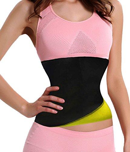 Junlan Neoprene Sweat Tummy Waist Slimming Fitness Trimmer Girdle Sport Shirt Body Shaper