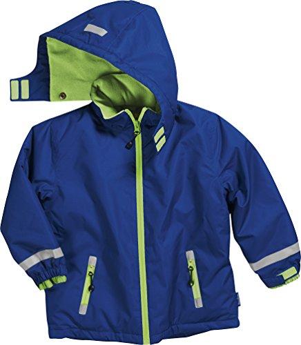 Jungen Schnee (Playshoes Jungen Schnee Uni Jacke, Blau (Marine 11), Herstellergröße: 80)