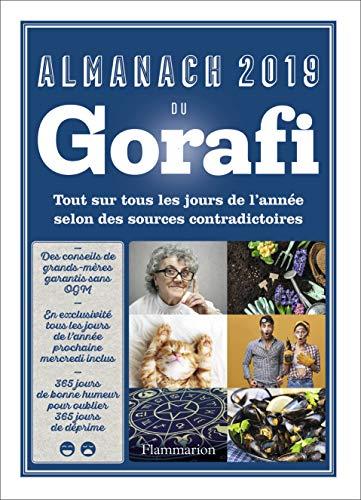 Almanach 2019 du Gorafi par  Jean-François Buissière