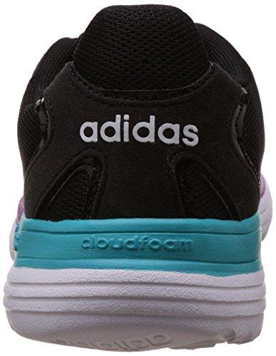 adidas Damen Cloudfoam Speed W Turnschuhe, Rosa Schwarz (Negbas / Negbas / Ftwbla)
