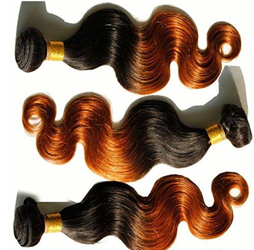 AN-LKYIQI Capelli brasiliano tenda due colori capelli ricci capelli Europa