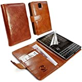 Tuff-Luv Vintage Ledertasche Hülle für Blackberry Passport Q30 - braun