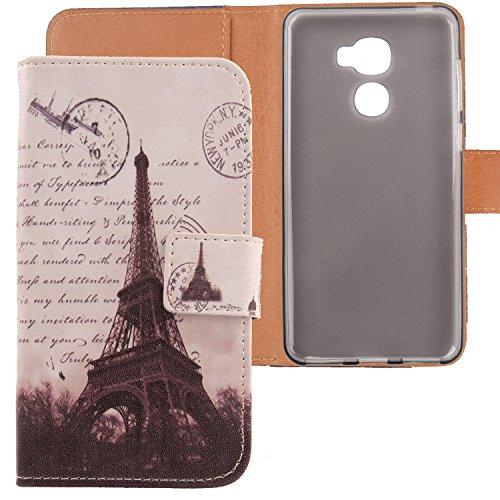 Lankashi PU Flip Leder Tasche Hülle Case Cover Schutz Handy Etui Skin Für LeTV LeEco Le Pro 3 5.5